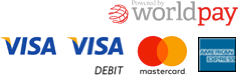 WorldPay Accepted Card Logos